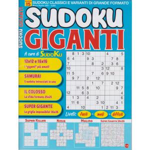 Sudoku Giganti - n. 15 - marzo - aprile 2021 - bimestrale