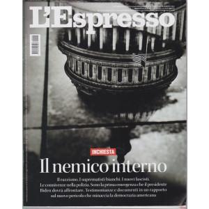 L'Espresso - n. 5 - settimanale - 24 gennaio 2021