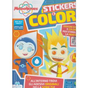 Meteo Heroes Stickers e colori - n. 2 - gennaio - febbraio 2021 - bimestrale -