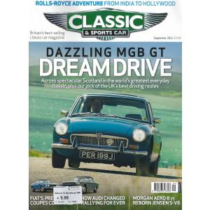 Classic & sports car - n. 309 - september 2021 - in lingua inglese