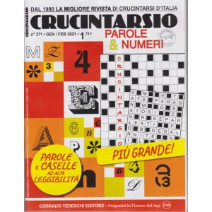 Crucintarsio - n. 371 - gennaio - febbraio 2021 - bimestrale