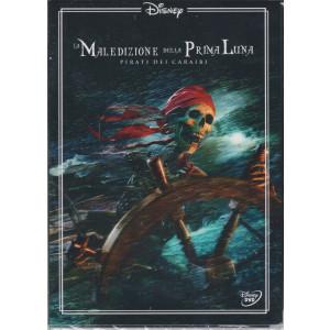 I dvd di Sorrisi 4 n. 23 - La maledizione della prima luna - Pirati dei Caraibi - settimanale - maggio 2021