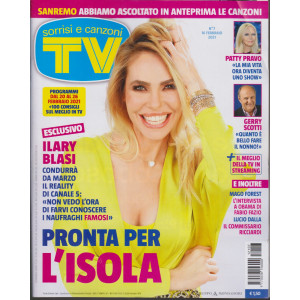 Sorrisi e Canzoni tv -n.   7 - settimanale - 16 febbraio 2021