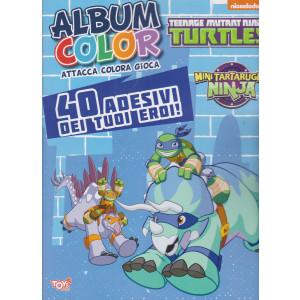 Toys2 Color Game - Album color - Teenage mutant Ninja - n. 43 - bimestrale - 25 marzo 2021
