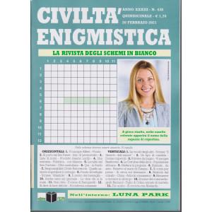 Civilta' Enigmistica - n. 438 - quindicinale -20 febbraio  2021