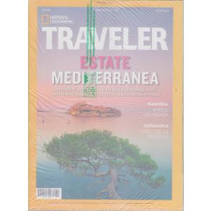 National Geographic  - Traveler -  Estate mediterranea 2021 - n. 11  - trimestrale   - giugno 2021 + Traveler speciale Trentino - 2 riviste