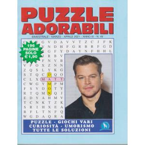Puzzle  Adorabili - n. 49 - bimestrale - marzo - aprile 2021 - 196 pagine