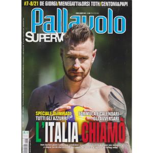 Pallavolo Supervolley - n. 8  - luglio - agosto  2021  - mensile