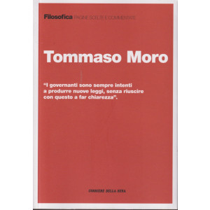 Filosofica -Tommaso Moro- n. 43 - settimanale - 219  pagine