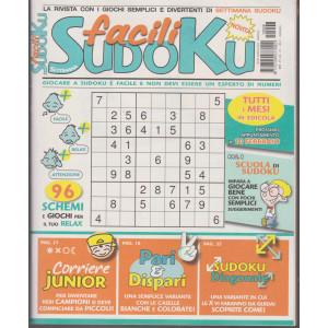 Settimana sudoku facili - n. 8 - mensile - 08/01/2021