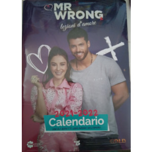 Calendario 2021 - 2021 Mr. Wrong Lezioni d'amore