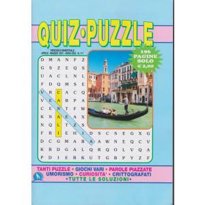 Quiz -  Puzzle - n. 171 - bimestrale - aprile - maggio  2021 - 196 pagine