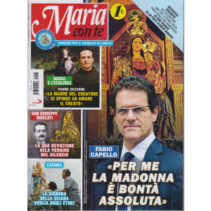 Maria con te - n. 8 - settimanale -21  febbraio 2021