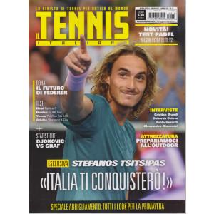 Il tennis italiano - n. 4 -aprile  2021 - mensile