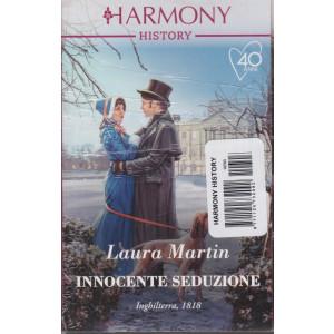 Harmony History -Innocente seduzione - Laura Martin - n. 703 - mensile - febbraio 2021
