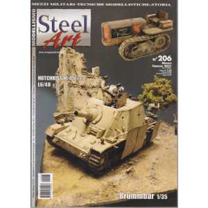 Steel Art - n. 206 - mensile - febbraio  2021