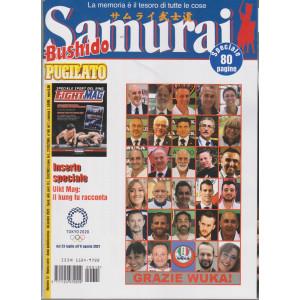Samurai - Bushido - Pugilato - n. 12 - dicembre  2020 - 80 pagine