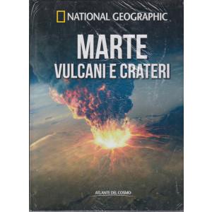 National Geographic   -Marte vulcani e crateri-   n. 45  - settimanale- 20/8/2021 - copertina rigida