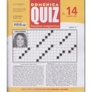 Domenica Quiz - n. 14- settimanale -8 aprile  2021
