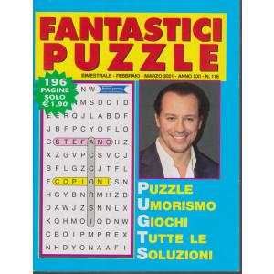 Fantastici Puzzle - n. 116 - bimestrale - febbraio - marzo 2021 - 196 pagine