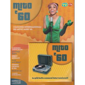 Cd Sorrisi Canzoni -n. 16- Mito '60- 28 settembre 2021 - settimanale - doppio cd