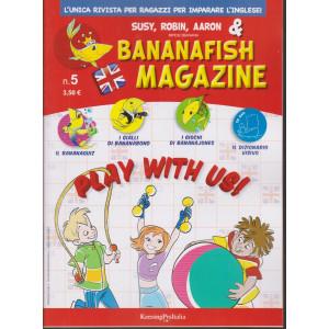 Bananafish magazine - n. 5 - 17 marzo 2021 - trimestrale