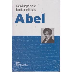 Geni della matematica -Abel- n. 20 - settimanale- 30/7/2021 - copertina rigida