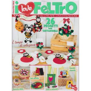I love feltro - n. 2 - bimestrale - agosto - settembre 2021