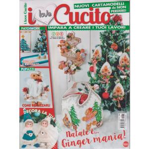 I Love Cucito  Extra - n. 37 - bimestrale -ottobre - novembre 2021