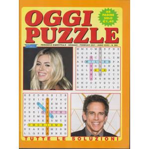 Oggi Puzzle - n. 269 - bimestrale  - gennaio - febbraio 2021 - 68 pagine