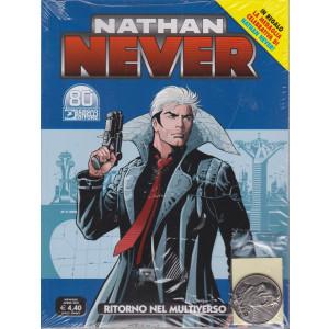 Nathan Never -Ritorno nel multiverso - n. 359 - mensile - aprile   2021