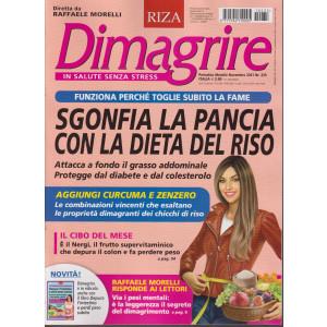 Dimagrire - n. 235 -Sgonfia la pancia con la dieta del riso-  mensile -novembre 2021