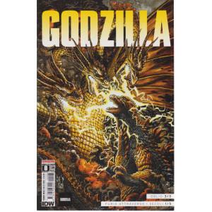 Godzilla - n. 8- Oblio 3/3 - Furia attraverso i secoli 1/3 -  mensile - 13/5/2021