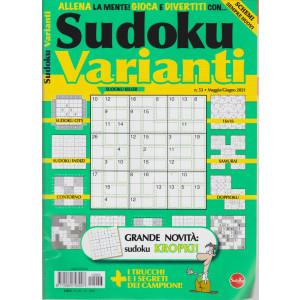 Sudoku Varianti - n. 53 - maggio - giugno   2021 - bimestrale