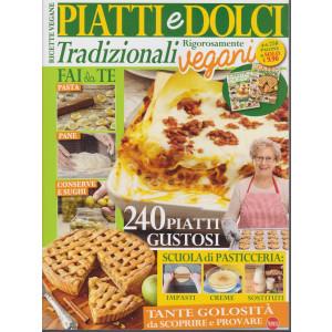 We veg speciale collection - Piatti e dolci tradizionali rigorosamente  vegani - n. 1 - bimestrale - gennaio - febbraio 2021 - + di 250 pagine