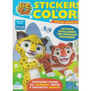 Leo & Tig Stickers e colori - n. 6 - gennaio - febbraio 2021- bimestrale -