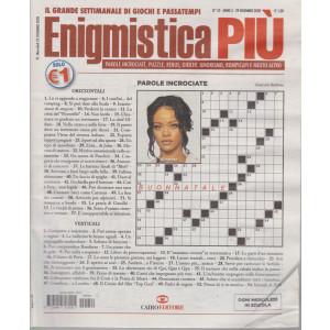 Enigmistica Piu' - n. 52  - settimanale - 29 dicembre 2020