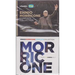 Gli speciali musicali di Sorrisi - n. 24 -13/8/2021 -Ennio Morricone - Complete collection -settima   uscita cd Muisc for cinema vol. 7 + libretto inedito