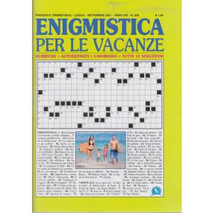 Enigmistica per le vacanze - n. 506 - trimestrale - luglio - settembre  2021 -