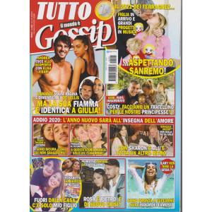 Tutto  il mondo è gossip - n. 1- mensile - gennaio 2021