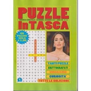 Puzzle In Tasca - n. 41 - bimestrale - novembre - dicembre  2021- 68 pagine