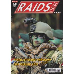 Raids - Italia - n. 408 -ottobre 2021 - mensile