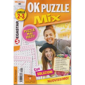 Ok puzzle Mix - n. 4 - ottobre 2021 - bimestrale
