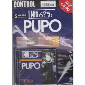 Saifam Music Control - I miti anni 60-70 - Pupo the best - rivista + cd