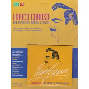 Enrico Caruso - Arie d'opera, inni, romanze e canzoni - settimanale - agosto 2021 - doppio cd -