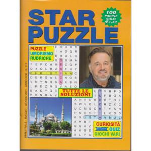 Star Puzzle - n. 313 - bimestrale - maggio - giugno   2021 - 100 pagine