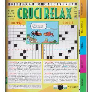 Cruci Relax - n. 201- mensile -13/2/2021