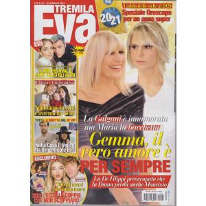 Eva 3000 - n. 26 - settimanale - 15 gennaio 2021- 100 pagine