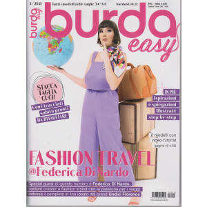 Burda Easy -n.3  - bimestrale - 1/6/2021