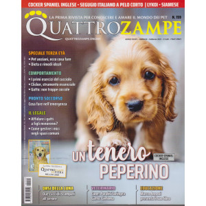 Quattro Zampe - n. 159 - mensile - febbraio 2021